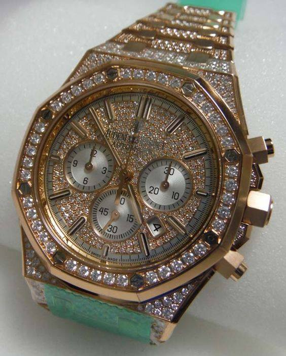 Ap Watch Fully Loaded Iced Out